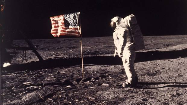 Suggestions the flags shown supposedly planted on the Moon were actually fluttering in a breeze are a mainstay of some ...