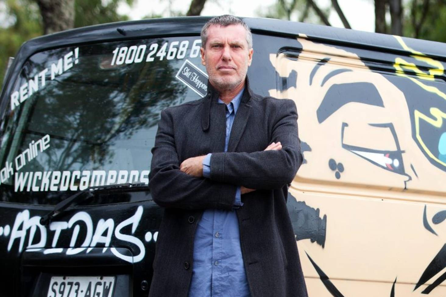 Wicked Campers slogan outrage continues, Mr Wicked nowhere to be