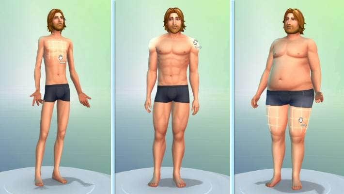 Sims 4 boobs