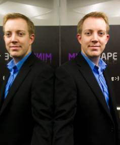 ZAP FOR THAT: Mindscape chief executive John-Daniel Trask has mixed feelings about the success of the company's Raygun tool.