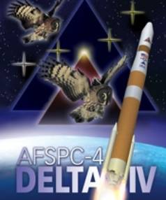 OWLS IN THE SKY: The AFSPC-4 mission logo.